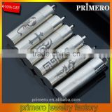 Titanium Stainless Steel Pill Case Holder Cylinder Tube Cremation Urn Diffuser Pendant