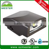 Low profile slim 20W 30W 40W 120-277V full cutoff LED wall pack light die cast aluminum housing 4000K 5000K with photocell