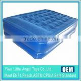 New design upscale queen size air bed,raised air bed,inflatable built-in pump raised air bed
