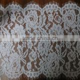 China Supplier French Chemical Wholesale Eyelash Chantilly Lace for Bridal Dress