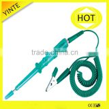 China factory offer the free sample and life warranty copper cap green color vehicle tools car battery tester with CE