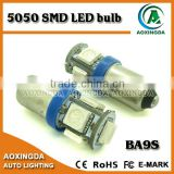 high quality 12v 5050SMD BA9S 1895 car LED bulb
