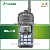 RS 35M waterproof handheld 5w vhf marine radio                                                                                                         Supplier's Choice
