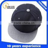 Blank wool tweed 6 panel cheap brand snapback hats wholesale                                                                                                         Supplier's Choice