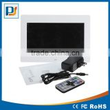 10 Inch TFT LED Digital Photo Frame & HD Video(1080P/720p)&Music Playback with Remote Control&Calendar/Clock
