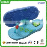 wholesale cute die cut child eva flip flop bear paw slipper child bear eva slipper