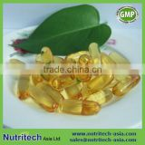 GMP Certified Contract manufacturer halal Omega 3 Fish Oil Softgel 1000mg EPA+DHA 50% in bulk