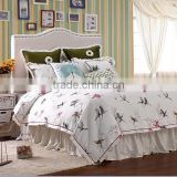 New Arrival America Country Style Floral Printed Duvet Cover Bedding Sheet                                                                         Quality Choice