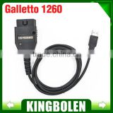 Fast shipping 2016 Top Latest Version OBD2 Galletto1260 Flasher EOBD/OBDII chip tuning tool Galletto 1260 ECU flash tool Remap