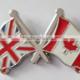British Union Canada cross Flag Lapel Pin Badge Plus Gift Pouch