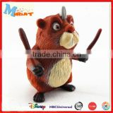 Non-toxic PVC cartoon toy plastic bear figurine