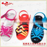 Kid crystal PVC sandals outdoor