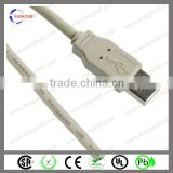 USB A male with open end UL2725 USB2.0 cable