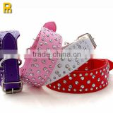 2014 hot sell China custom spiked leather dog collars                                                                         Quality Choice