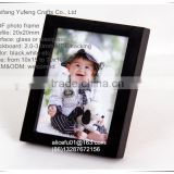 wholesale black mdf wood photo frame baby boy picture frame for decor or gifts