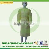 Disposable PP nonwoven/SMS Blue Surgical gown