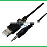 USB AM TO DC cable for Android tablet PC Charger USB to 2.5*0.8mm 3.5*1.35mm DC Power cord converter
