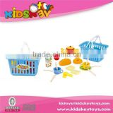 2015 New kids kitchen set toy tableware set plastic dinner set kitchen tool set
