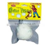 50mm crazy white pom poms bulk Cat toy