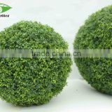 China Goods artificial topiary potted grass ball for garden home
