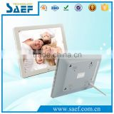 video/audio/picture/e-book frame digital photo frame 12.1 inch 1024*768 lcd advertising display