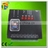 SPI signal SD card 8 output ports pixel led controller T-8000 offline control                                                                         Quality Choice