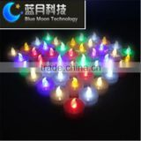 Battery Operated multicolor christmas decoration led light with good decoration effect