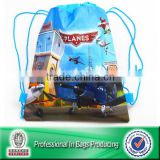 Lead-free 100% Recycled custom printed gym drawstring bags                                                                         Quality Choice