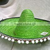 New Style Handmade Mini Mexican Sombrero Straw Hat                                                                         Quality Choice