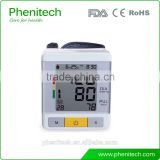 Bluetooth Automatic Wrist Blood Pressure Monitor Digital BP Monitor for Home                                                                         Quality Choice