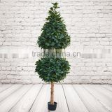 Potted Artificial Bell Topped Topiary Tree