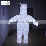 Led christmas lights clearance cute crystal bear outdoor decorations fancy led chasing christmas lights