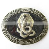 Decorative large snake belt buckles