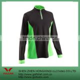 Men's quick drying breathable running clothes fashion wild warm long-sleeved sports T-shirt
