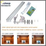Cold white LED bar light ,aluminum led cabinet light with color temperature control system for retail,LED driver with CE