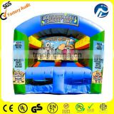 inflatable football shooting inflatable football target game