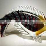 Lucky fish art glass table decoration xo-2010006A and art glass home decoration