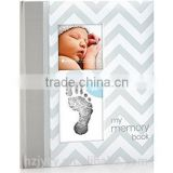 Cheap hardcover baby memory book offset printing service