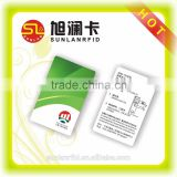 Pvc printable access control RFID smart card with laser number