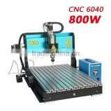 CNC machine 800W/AC220 CNC6040 name plate / cnc metal engraving machine