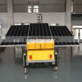 air cooled diesel generator Mobile trailer lighting tower/ diesel light, balloon light tower. portable lighting tower