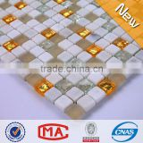 Frosted glass broken china mosaic mosaic stone silver mirror mosaic vases