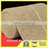 Building Material Basalt Rock Wool Insulation Blanket Wire Mesh