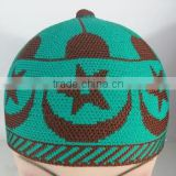 Men Islamic Prayer Knitted Winter Hats Wool Muslim caps