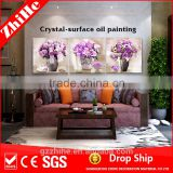 wholesale dropshipping ceramic flower pot painting designs oil painting on canvas factory price art wall print art for kids