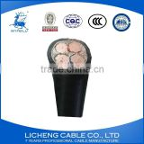 4 core cable xlpe insulated pvc coated electrical power cable 4x120mm2 medium voltage wire cable