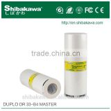 Duplo high quality digital duplicator ink and master roll