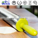 New Products 2016 Hot Selling Kitchenware stainless steel Rolling Pin Cake Sugarcraft Baking Cooking Tools
