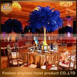 Beautiful blue strich feather center pieces Wedding decoration