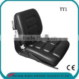 Skid steer Tractor excavator semi suspension seat